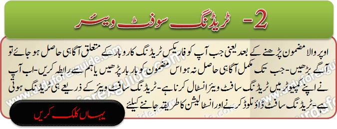 Metatrader is best trading software in forex t rading market, Learn Mt4 in Urdu